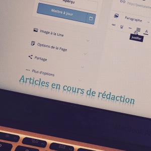Articles ecriture