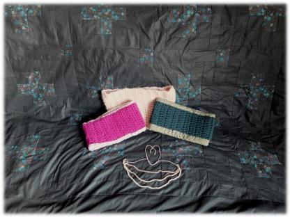 Plaid patchwork et autres projets du CK18 (déc. 2015)