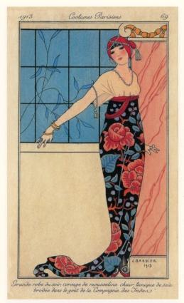 George Barbier: Costumes Parisiens (1913)