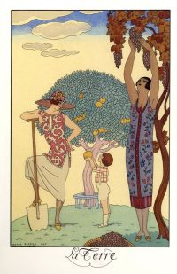 George Barbier: La Terre (1925)