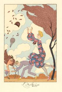 George Barbier: L'Air (1925)