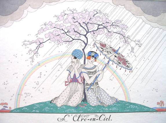 George Barbier: L'Arc-en-Ciel (1920)