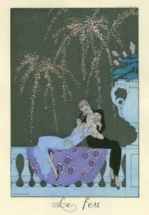 George Barbier: Le Feu (1925)